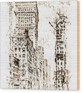 Golden Cornice 1904 Wood Print