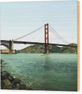 Golden Gate Bridge 2.0 Wood Print by Michelle Calkins