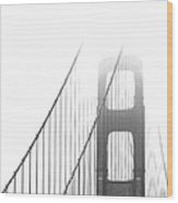 Golden Gate Bridge Wood Print by Ben and Raisa Gertsberg