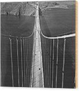 Golden Gate Bridge In 1937 Wood Print