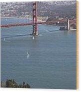 Golden Gate Bridge Wood Print by Jenna Szerlag
