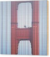 Golden Gate Bridge San Francisco California Wood Print