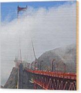 Golden Gate Bridge San Francisco California Wood Print