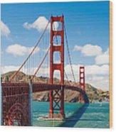 Golden Gate Bridge Wood Print by Sarit Sotangkur