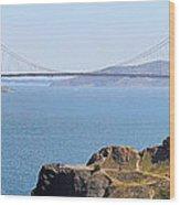 Golden Gate Panorama 8027 8030 Wood Print