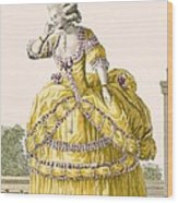 Golden Gown, Engraved By Dupin, Plate Wood Print