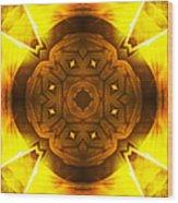 Golden Harmony - 2 Wood Print