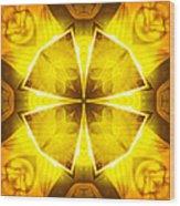 Golden Harmony - 4 Wood Print
