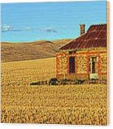Golden Harvest Wood Print by Bill  Robinson