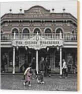 Golden Horseshoe Frontierland Disneyland Sc Wood Print
