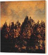Golden Hours Wood Print