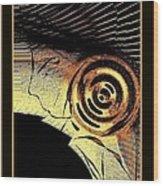 Golden Nile Wood Print