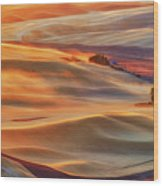 Golden Palouse Wood Print