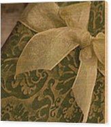 Golden Present Wood Print