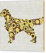 Golden Retriever - Animal Art Wood Print