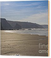 Golden Sands Wood Print