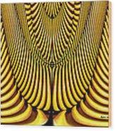 Golden Slings Wood Print