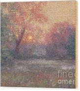 Golden Sunrise - June Wood Print