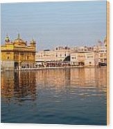 Golden Temple And Akal Takht Wood Print