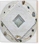 Golden Jerusalem Lemuria Healed Love Wood Print