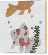 Goldfish Art Wood Print