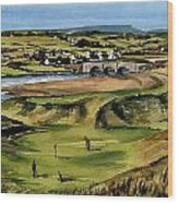 Clare  Golf At Lahinch Gc Wood Print