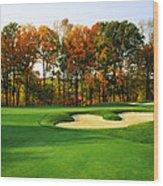 Golf Course, Great Bear Golf Club Wood Print