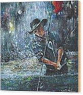 Golf Delirium Nocturnum 02 Wood Print