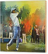 Golf In Gut Laerchehof Germany 01 Wood Print