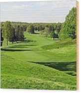 Golfer's Dream Wood Print