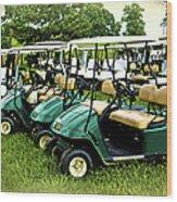 Golfers Take Your Pick Wood Print