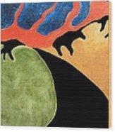 Gombean Dream Wood Print