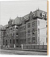 Gonzaga College Spokane 1900 Wood Print by Daniel Hagerman