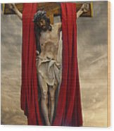 His Ultimate Gift Of Mercy - Jesus Christ Wood Print