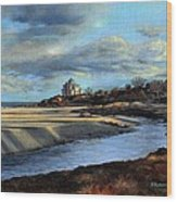 Good Harbor Beach Gloucester Wood Print