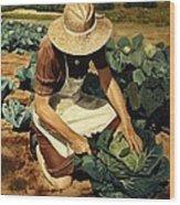 Good Harvest Wood Print