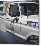Good Humor Ice Cream Truck 02 Wood Print