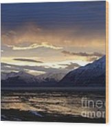 Good Morning Alaska Wood Print