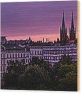 Good Morning Berlin Wood Print