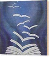 Good News Bible Wood Print