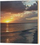 Good Night Sanibel Island Wood Print