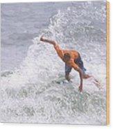 Good Surf Wood Print