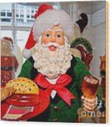 Good Time Santa Wood Print