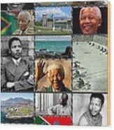 Goodbye Madiba Wood Print