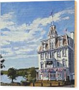 Goodspeed Opera House East Haddam Connecticut Wood Print