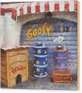 Goofy Water Disneyland Toontown Photo Art 02 Wood Print
