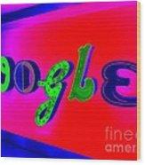 Google's Hallway Wood Print
