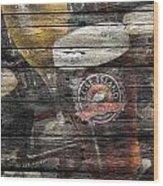 Goose Island Wood Print