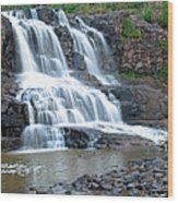Gooseberrry Falls Wood Print