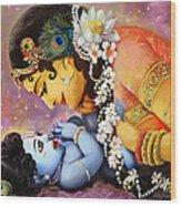 Gopalji Wood Print